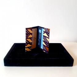 Portes cartes en Wax