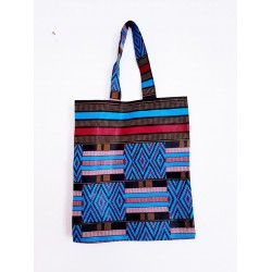 Tote bag en wax